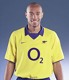 Arsenal's real new kit....we wish.