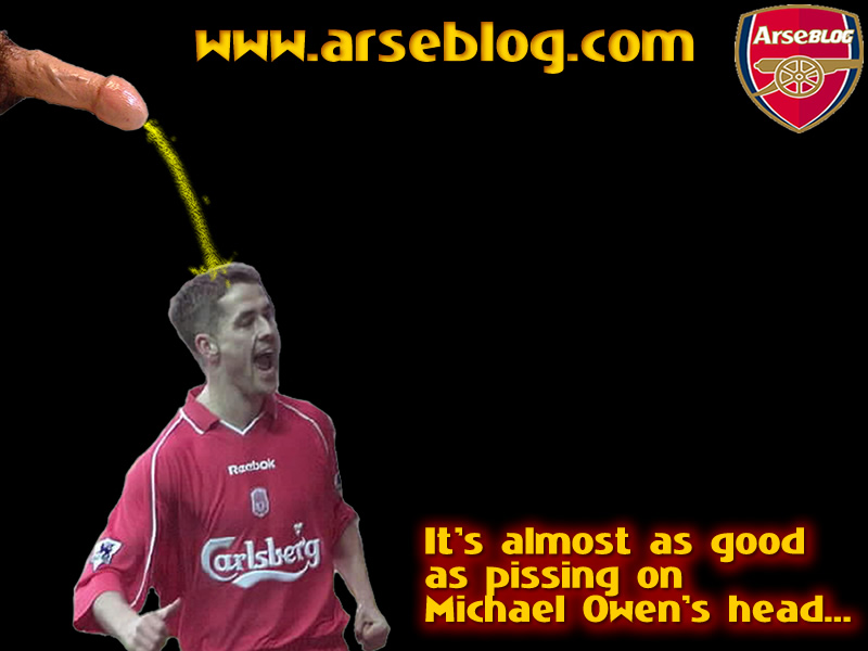 arseblog - michael owen