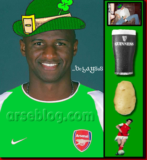 Happy Saint Patrick's Day......from arseblog.