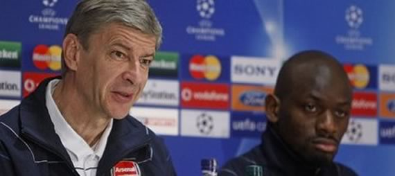 Wenger on van Persie and Diaby, SZCZ feeling Bould